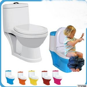 Small Size Ceramic One Piece Wc Toilet for Children pictures & photos
