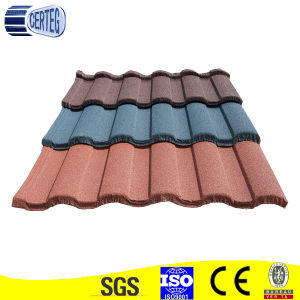 Color Stone Coated Metal Roof Tiles/Laminated/Size pictures & photos