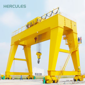 45 Ton Gantry Crane with Electric Crane Trolley pictures & photos