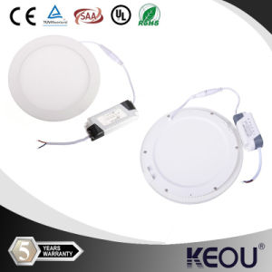 China Best Supplier Square Round LED Panel Light 3W 6W 9W 12W 15W 18W 24W LED Panel Ceiling SAA UL pictures & photos