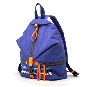 2015 Latest Washed Fabric Fashion Women Backpack (QN-47B)