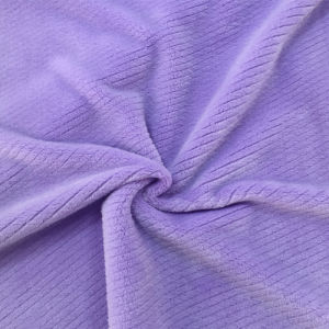 100% Polyester Twill 1 Jacquard Flannel Fleece pictures & photos