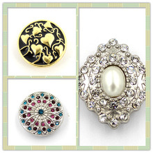 Wholesale 20mm Round Zinc Alloy Snap Button for Bangles pictures & photos
