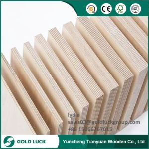 Cheap Price 1mm-25mm Melamine Plywood Eco Plywood pictures & photos