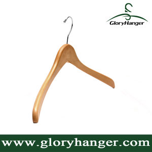 USA Wishbone Lotus Wood Hanger for Hotel display Turnup Hook (GLWH106) pictures & photos