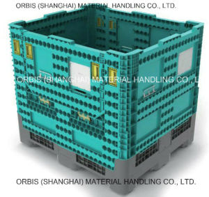 1140*980 *1020 Large Plastic Storage Fordable Bulk Container