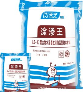Cement-Based Permeable Crystallization Type Waterproof Cement
