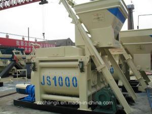 Js1000 Double Shaft Concrete Mixer, Electric Cement Mixer pictures & photos