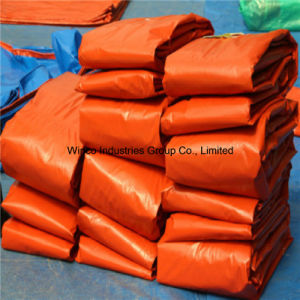 High Quality Tarpaulin PE Tarpaulin Cover Use for Cargo Storage or Transportation pictures & photos