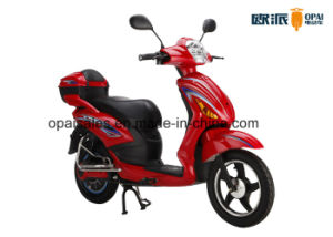 Electric Scooter with Pedal E-Bike with Rear Box 350W/500W 48V20ah Front Disc Brake pictures & photos