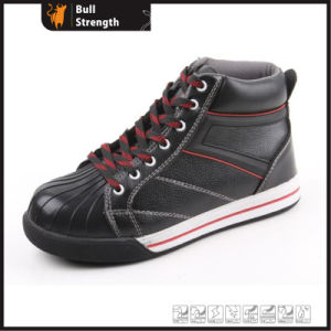 PU Upper and Rubber Outsole Leisure Style Safety Shoe (SN5190) pictures & photos