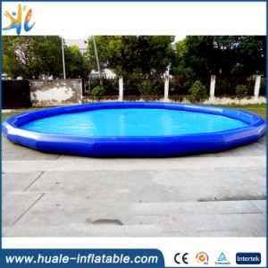 2016 Cheap Price Round Inflatable Swimming Pool for Rental Commercial pictures & photos