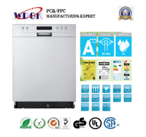 Hot Sell Stainless Steel Semi-Integrated Dishwasher