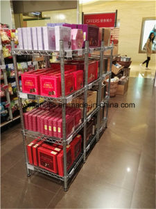 Cheap Shopping Mall Gondola Shelf with 4 Shelves pictures & photos