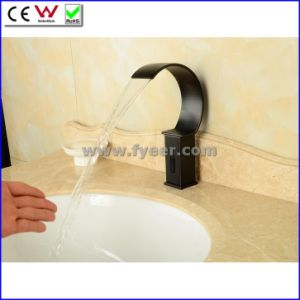 New Orb Cold Only Automatic Waterfal Sensor Tap Faucet (QH0127B) pictures & photos