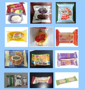 Bread/Cake/Bakery Food High Speed Pillow Type Packing Machine (ZP420) pictures & photos