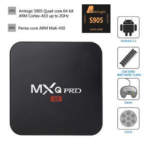 Mxq TV Box S905 Mxq 4k PRO TV Box pictures & photos
