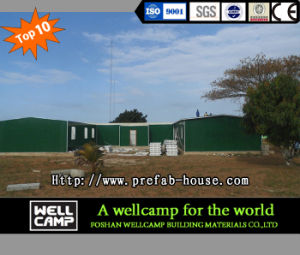 Green Portable Prefabricated House for Office pictures & photos