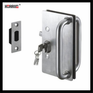 Stainless Steel Glass Door Lock Fixing Wall (HR1125/HR1120) pictures & photos