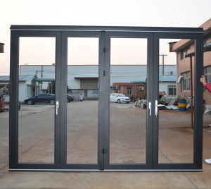 High Quality Thermal Break Aluminum Folding Door K07012 pictures & photos