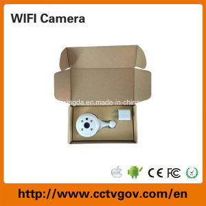 Shenzhen HD Mini 0.4 Megapxiel Surveillance WiFi Wireless Camera pictures & photos