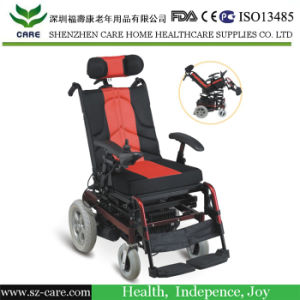 Rehabilitation Therapy Supplies China Supplier Handicapped Foldable Power Electric Wheelchair Prices for Disabled People pictures & photos