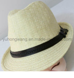 Wholesale Men Straw Hat, Summer Sports Baseball Cap pictures & photos