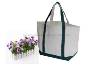 Strong Canvas Tote Bag for Shopping (HC00150608012) pictures & photos