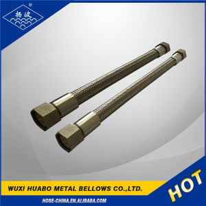 Ss304 Stainless Steel Braided Thread Nut Metal Hose pictures & photos