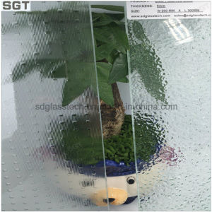 Nashiji Rain Aqualite Moru Patterned Clear Float Glass pictures & photos