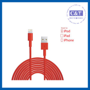 3m 10ft Micro Data Flex USB Cable for iPhone 5s pictures & photos