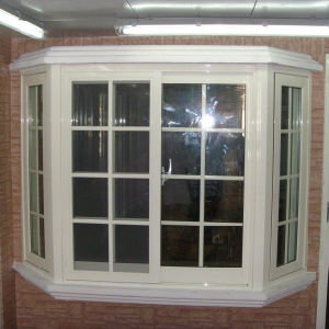 Double Glazing Vinyl Bay Window pictures & photos