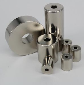 Strong Permanent NdFeB Cylinder Magnets for Electronic Industry pictures & photos