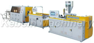 Double Cavity PVC Plastic Cable Trunking Extrusion Line pictures & photos