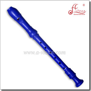 Transparence Blue Baroque ABS Soprano Recorder Flute (RE2546B) pictures & photos