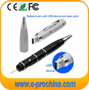 USB Pen Ballpoint Custom Logo USB Flash Drive for Free Sample pictures & photos
