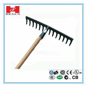 High Quality Garden Long Handle Rake pictures & photos