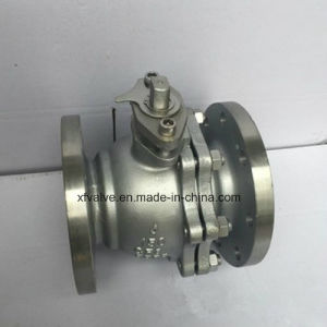 ANSI 150lb Cast Stainless Steel CF8 Flange End Ball Valve pictures & photos
