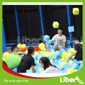 Colorful Trampoline Center with Dodgeball Area pictures & photos