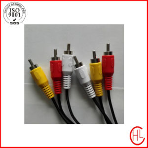 Customized RCA Cable with Best Audiovisual Effect pictures & photos