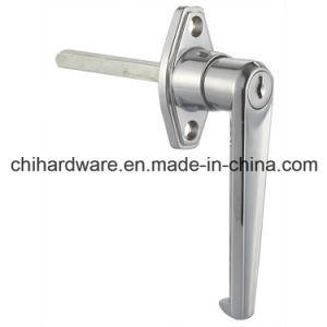 Zinc Alloy L Handle Lock for Garage or Cabinet Door pictures & photos