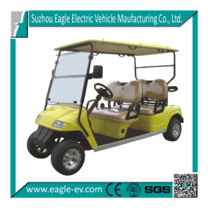 Electric Golf Carts with 4 Seats, CE Certificate, Eg2048k pictures & photos