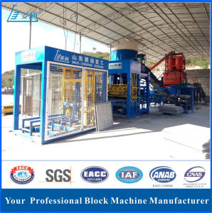 Fully Automatic Hydraulic Concrete Hollow Paving Brick Block Making Machine