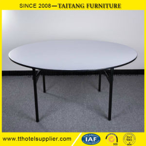 Plywood Top Folding Hotel Banquet Table pictures & photos