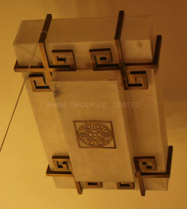 Phine European Decoration Lighting Made of Spanish Marble Fixture Ceiling Lamp pictures & photos