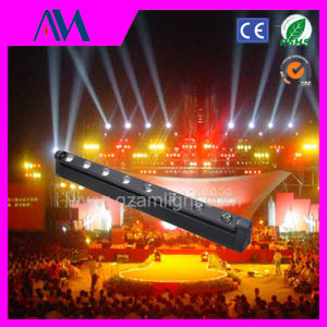 8PCS 10W 4 in 1 LED Moving Head Beam Light