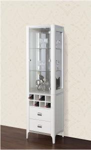 Home Furnituremodern Glass Display Wine Cabinet (JG-193B) pictures & photos