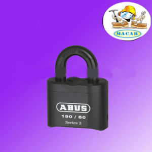 Cheap 3 Black Combination Pad Lock pictures & photos