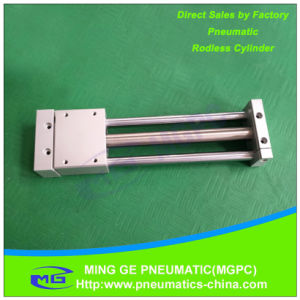 Rodless Pneumatic Cylinder Air Cylinder (SMC or Airtac type) pictures & photos