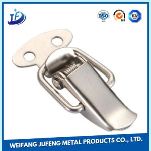 Custom Sheet Fabrication Metal Stamping Mechanical Cabinet Locker Buckle pictures & photos
